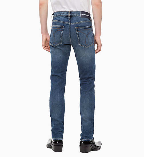 CALVIN KLEIN JEANS CKJ 026 Slim Jeans - COUNTY BLUE - CALVIN KLEIN JEANS NEW IN - detail image 1