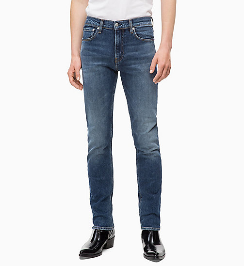 CALVIN KLEIN JEANS CKJ 026 Slim Jeans - COUNTY BLUE - CALVIN KLEIN JEANS NEW IN - main image