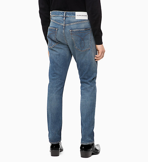 CALVIN KLEIN JEANS CKJ 056 Athletic Taper Jeans - ROSE BOWL BLUE - CALVIN KLEIN JEANS CLOTHES - detail image 1
