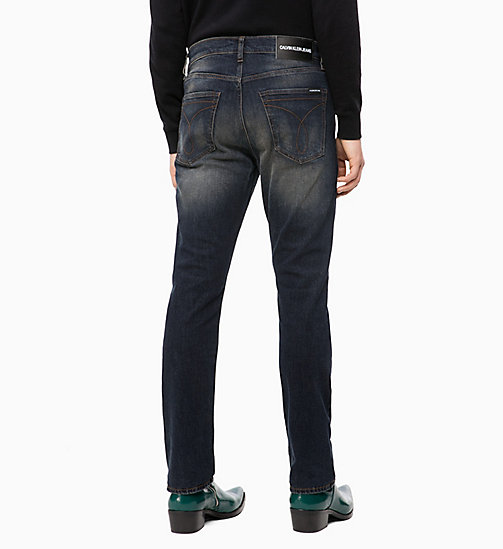 CALVIN KLEIN JEANS CKJ 035 Straight Jeans - MORNE BLUE - CALVIN KLEIN JEANS THE DENIM INDEX - подробное изображение 1