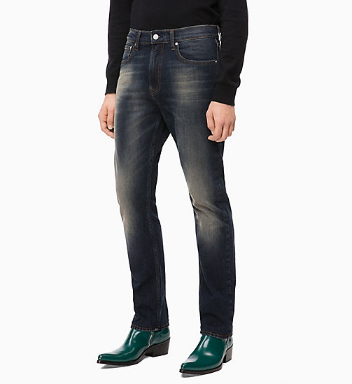 CALVIN KLEIN JEANS CKJ 035 Straight Jeans - MORNE BLUE - CALVIN KLEIN JEANS THE DENIM INDEX - image principale