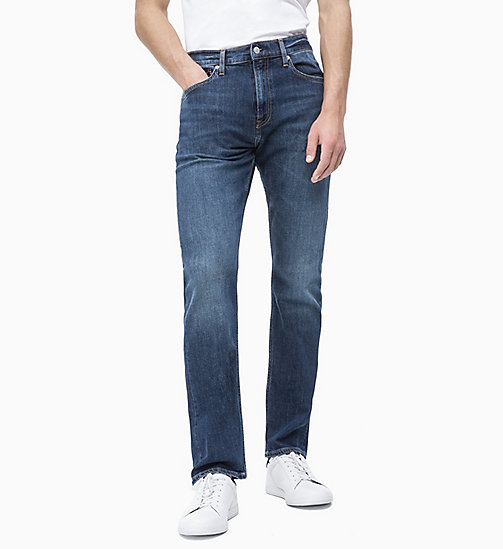 CALVIN KLEIN JEANS CKJ 035 Straight Jeans - NEWMAN BLUE - CALVIN KLEIN JEANS THE DENIM INDEX - main image