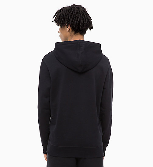 CALVIN KLEIN JEANS Logo Hoodie - CK BLACK - CALVIN KLEIN JEANS The New Off-Duty - detail image 1
