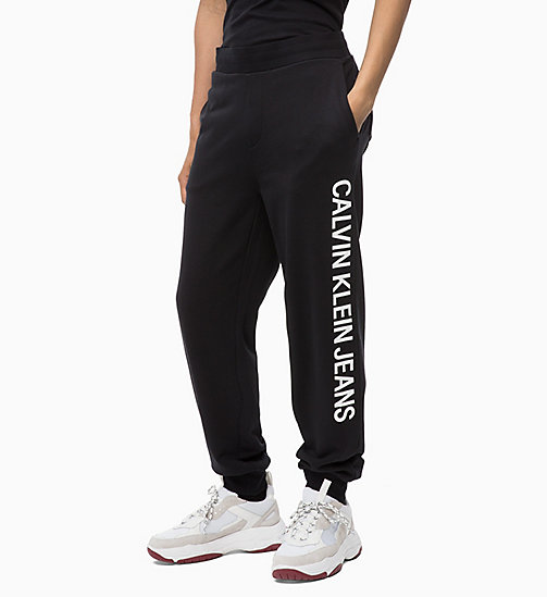 CALVIN KLEIN JEANS Logo Joggers - CK BLACK - CALVIN KLEIN JEANS NEW IN - detail image 1