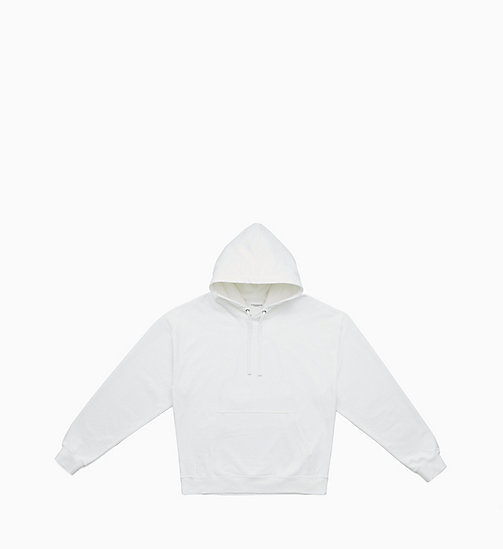 CALVIN KLEIN JEANS Graphic Hoodie - BRIGHT WHITE / FIST LADY - CALVIN KLEIN JEANS CLOTHES - main image