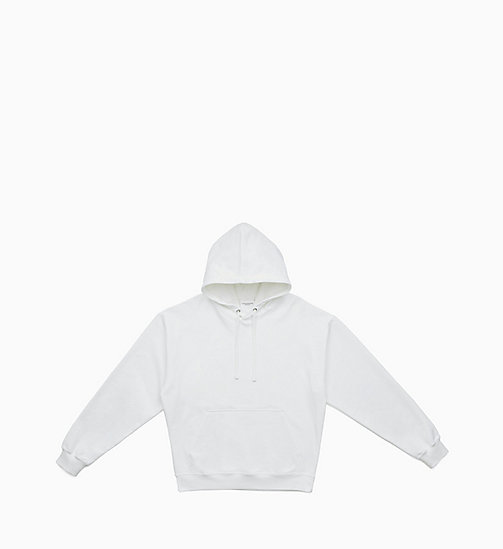 CALVIN KLEIN JEANS Graphic Hoodie - BRIGHT WHITE / EAGLE - CALVIN KLEIN JEANS CLOTHES - main image