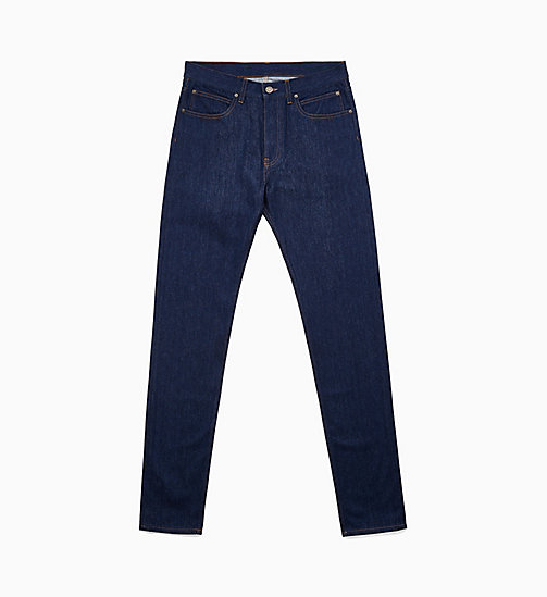 -50% CALVIN KLEIN JEANS Schmale Leg Jeans - PANEL RINSE INDIGO - CALVIN  KLEIN JEANS EST. 4ff3eacd93