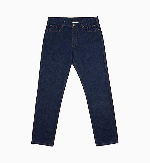 -50% CALVIN KLEIN JEANS Straight Leg Jeans - PANEL RINSE INDIGO - CALVIN  KLEIN JEANS EST. 975a8fbc07