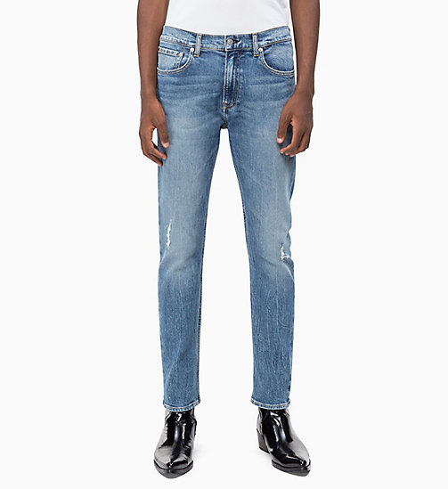 CALVIN KLEIN JEANS CKJ 056 Athletic Tapered Jeans - SENECA - CALVIN KLEIN JEANS CLOTHES - main image
