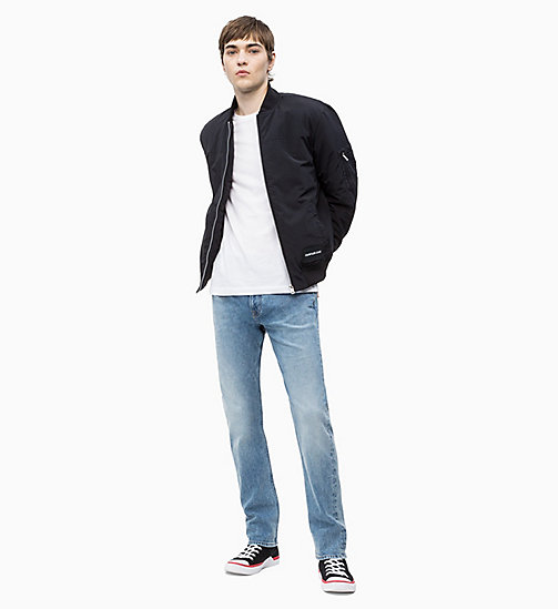 CALVIN KLEIN JEANS Padded Bomber Jacket - CK BLACK - CALVIN KLEIN JEANS CLOTHES - detail image 1