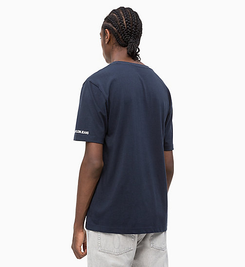 CALVIN KLEIN JEANS Organic Cotton Logo T-shirt - NIGHT SKY - CALVIN KLEIN JEANS NEW IN - detail image 1