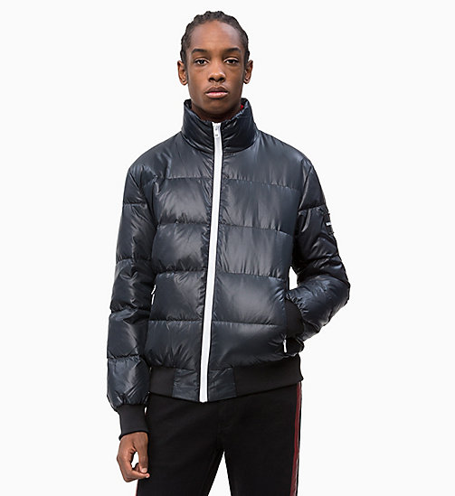 CALVIN KLEIN JEANS Down Puffer Jacket - CK BLACK - CALVIN KLEIN JEANS CLOTHES - main image