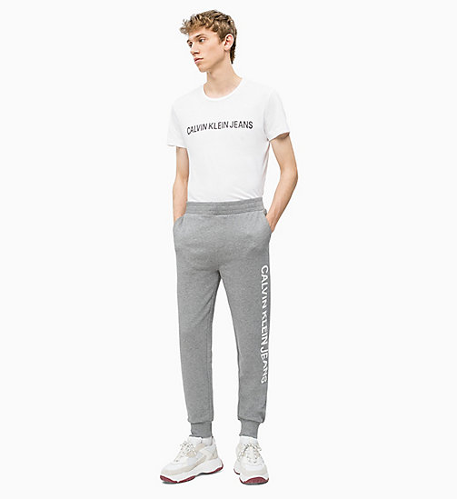 CALVIN KLEIN JEANS Logo-Jogginghose - GREY HEATHER - CALVIN KLEIN JEANS CLOTHES - main image 1