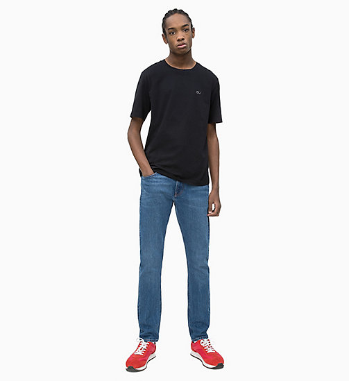 CALVIN KLEIN JEANS Organic Cotton T-shirt - CK BLACK - CALVIN KLEIN JEANS NEW IN - detail image 1
