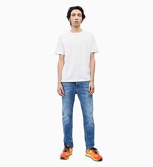 CALVIN KLEIN JEANS Organic Cotton T-shirt - BRIGHT WHITE - CALVIN KLEIN JEANS NEW IN - detail image 1