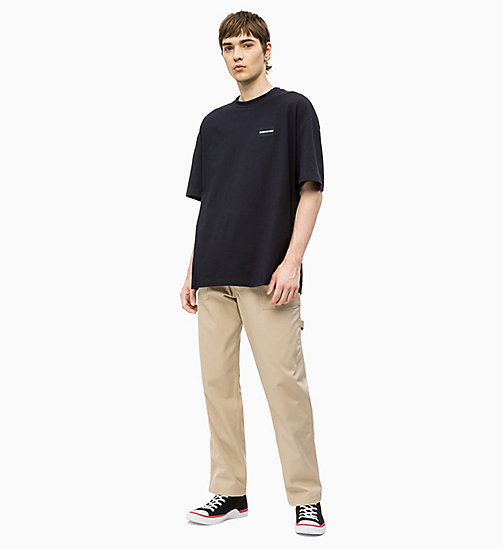 CALVIN KLEIN JEANS Oversized T-shirt - CK BLACK - CALVIN KLEIN JEANS NEW IN - detail image 1