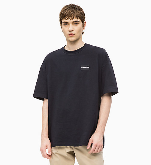 CALVIN KLEIN JEANS Oversized T-shirt - CK BLACK - CALVIN KLEIN JEANS NEW IN - main image