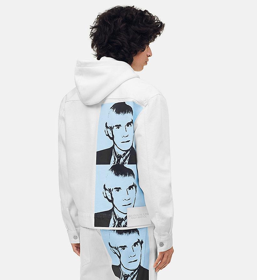 jeans uomo Warhol Klein da Calvin Portrait da di Giubbotto uomo Rqpgn5w1