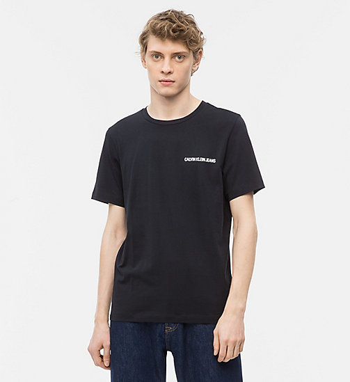 CALVIN KLEIN JEANS Printed T-shirt - CK BLACK - CALVIN KLEIN JEANS NEW IN - main image