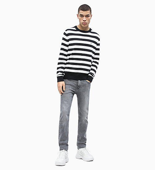CALVIN KLEIN JEANS Block Stripe Jumper - CK BLACK / BRIGHT WHITE - CALVIN KLEIN JEANS NEW IN - detail image 1