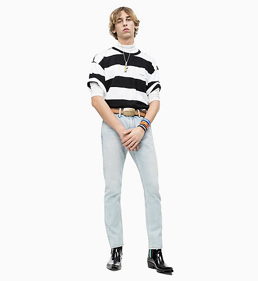CALVIN KLEIN JEANS Block Stripe T-shirt - CK BLACK / BRIGHT WHITE - CALVIN KLEIN JEANS NEW IN - detail image 1