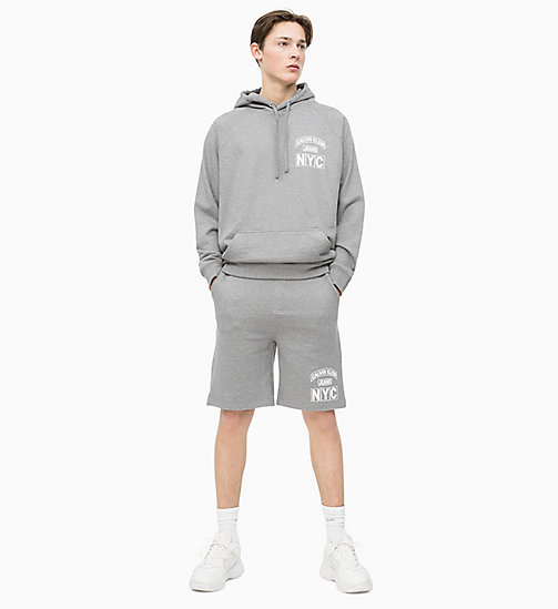 CALVIN KLEIN JEANS Varsity Jogging-Shorts - GREY HEATHER - CALVIN KLEIN JEANS NEW IN - main image 1