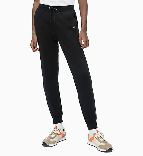 CALVIN KLEIN JEANS Slim-Fit Jogginghose - CK BLACK - CALVIN KLEIN JEANS NEW IN - main image