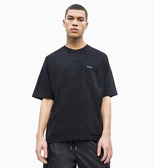 CALVIN KLEIN JEANS Relaxed Pocket T-shirt - CK BLACK - CALVIN KLEIN JEANS NEW IN - main image