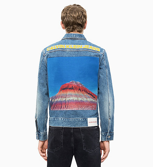 67619073b31 £145.00Embroidered Denim Trucker Jacket