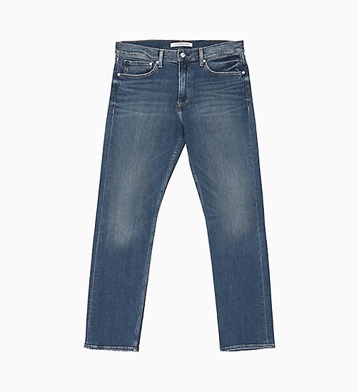 CALVIN KLEIN JEANS CKJ 035 Straight Jeans - TOM BLUE - CALVIN KLEIN JEANS NEW IN - main image