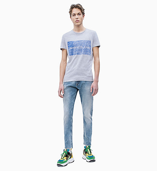 CALVIN KLEIN JEANS CKJ 056 Athletic Tapered Jeans - FREY - CALVIN KLEIN JEANS DENIM SHOP - detail image 1