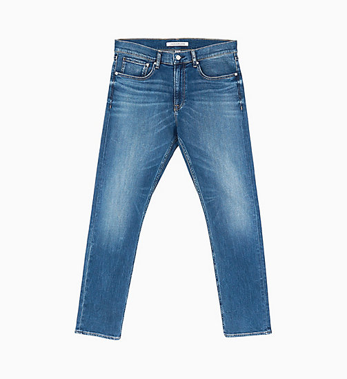 CALVIN KLEIN JEANS CKJ 056 Athletic Tapered Jeans - TENNESSE BLUE - CALVIN KLEIN JEANS NEW IN - main image
