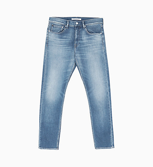 CALVIN KLEIN JEANS CKJ 056 Athletic Tapered Jeans - TORTUGA - CALVIN KLEIN JEANS NEW IN - main image