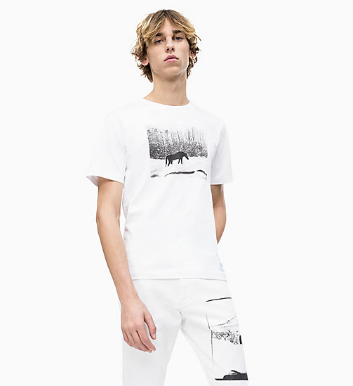 CALVIN KLEIN JEANS Andy Warhol Photo Art T-shirt - BRIGHT WHITE - CALVIN KLEIN JEANS ANDY WARHOL - main image