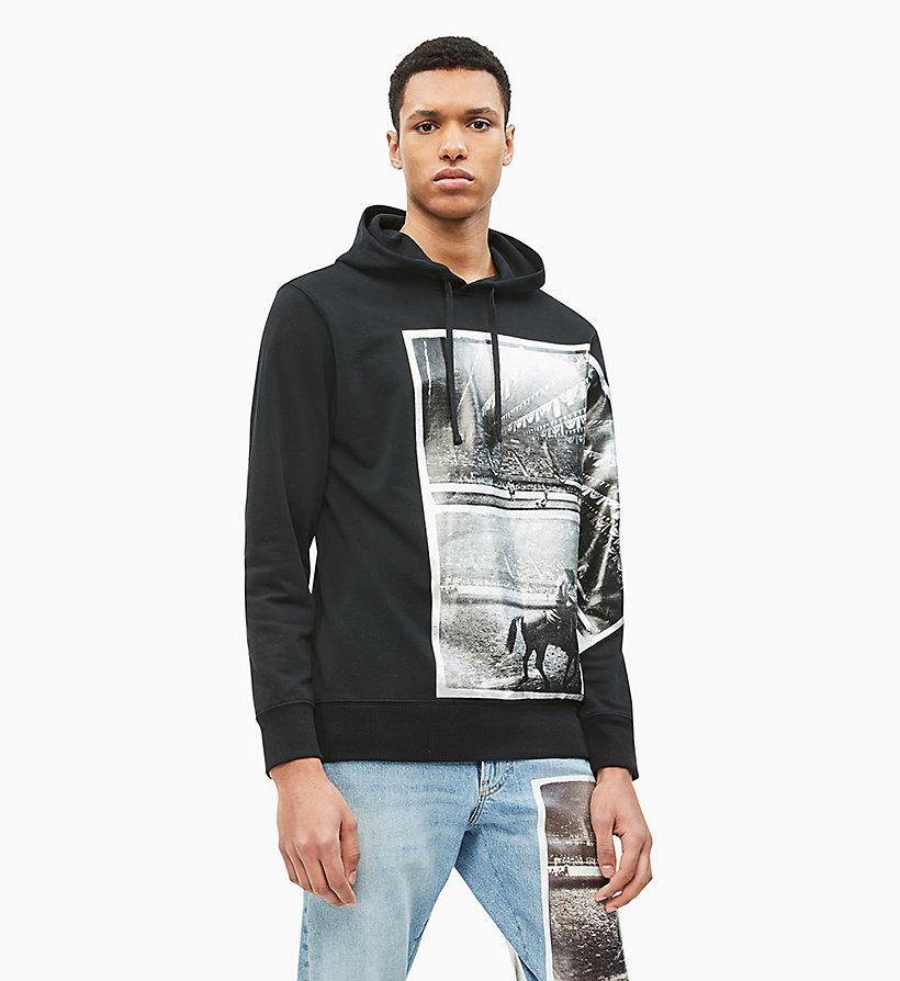 501dbd0cdfd510 Felpa con cappuccio Andy Warhol Photo Art da intimo da uomo Calvin Klein® |  J30J312043099