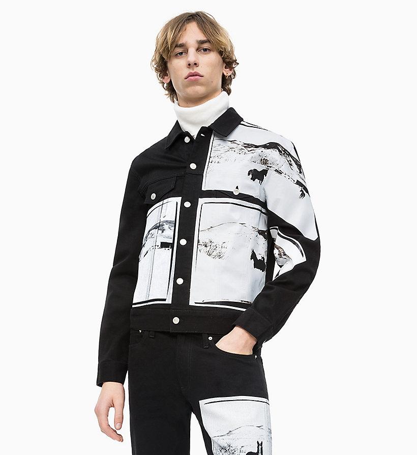 349a06853902 Andy Warhol Denim Trucker Jacket Calvin Klein® | J30J312095911