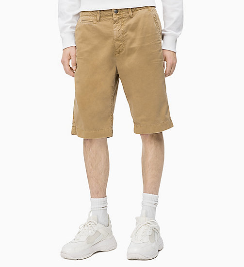 CALVIN KLEIN JEANS Chino-Shorts Schmal Zulaufend CKJ 056 - TRAVERTINE - CALVIN KLEIN JEANS NEW IN - main image
