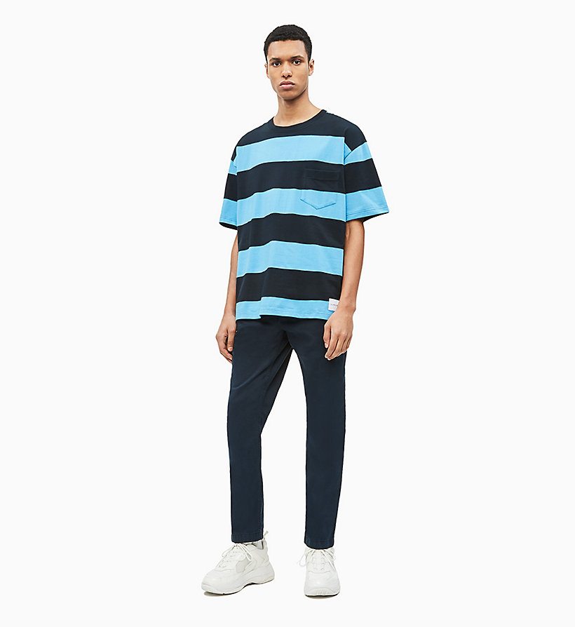 Calvin Klein Ckj 056 Tapered Chino hose Herren Bekleidung