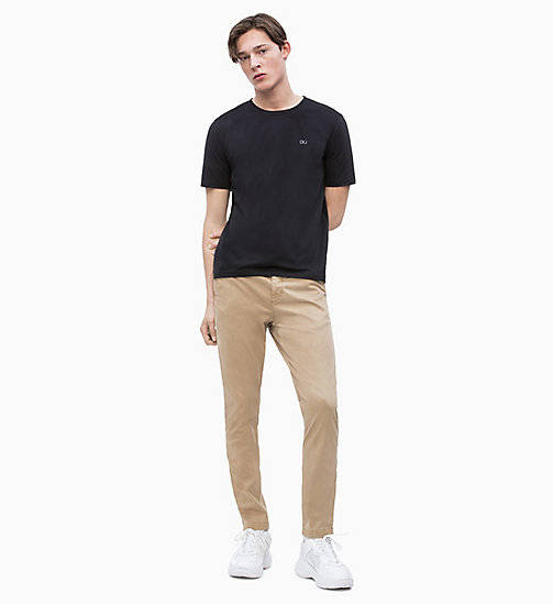 CALVIN KLEIN JEANS CKJ 026 Slim Chino-Hose - TRAVERTINE 15-1114 - CALVIN KLEIN JEANS NEW IN - main image 1