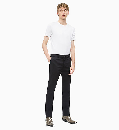 CALVIN KLEIN JEANS Slim T-shirt - BRIGHT WHITE - CALVIN KLEIN JEANS NEW IN - detail image 1
