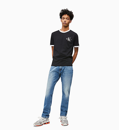 CALVIN KLEIN JEANS CKJ 056 Athletic Tapered Jeans - GINSBURG MID - CALVIN KLEIN JEANS NEW IN - detail image 1