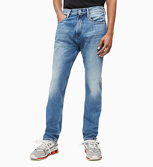 CALVIN KLEIN JEANS CKJ 056 Athletic Tapered Jeans - GINSBURG MID - CALVIN KLEIN JEANS NEW IN - main image