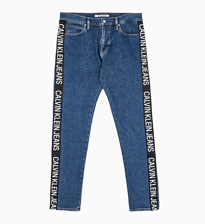 l'ultimo d8347 9d151 CKJ 026 Slim Logo Tape Jeans CALVIN KLEIN® | J30J312784911