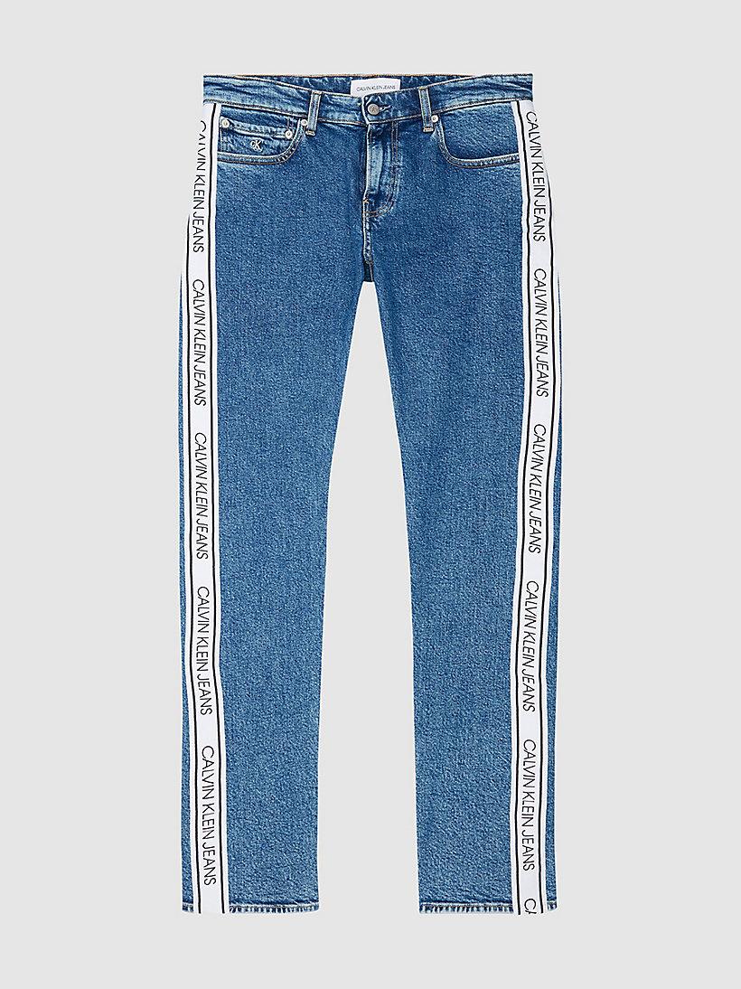 Slim Side Logo Jeans Calvin Klein J30j3160181a4