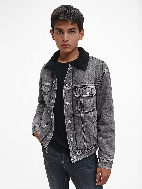 CALVIN KLEIN JEANS  - DENIM GREY -   - main image