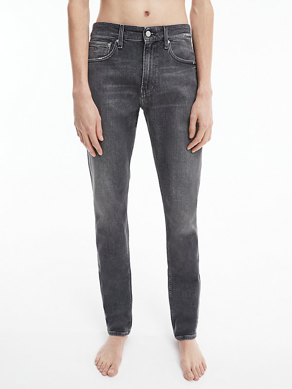 CALVIN KLEIN JEANS  - DENIM BLACK -   - main image