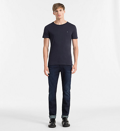 CALVIN KLEIN JEANS Regular T-shirt - NIGHT SKY - CALVIN KLEIN JEANS T-SHIRTS - detail image 1