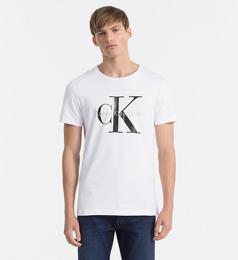 regular logo t shirt calvin klein j3ij302251. Black Bedroom Furniture Sets. Home Design Ideas