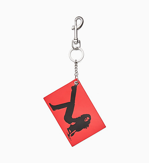 CALVIN KLEIN JEANS Icon Key Chain - TOMATO - CALVIN KLEIN JEANS VIEW ALL - main image