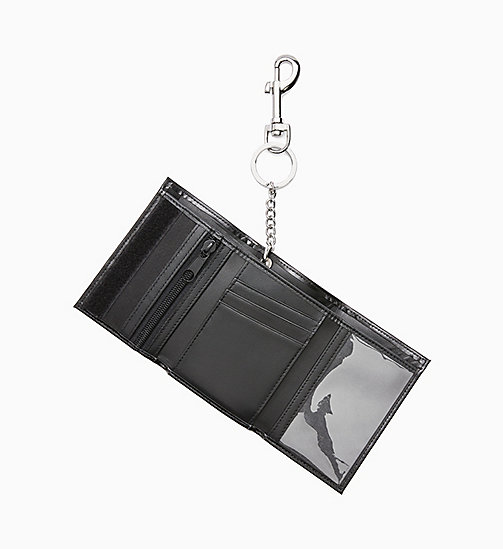 CALVIN KLEIN JEANS Est. 1978 Patch Chain Wallet - EST. PATCH BLACK - CALVIN KLEIN JEANS ACCESSORIES - detail image 1
